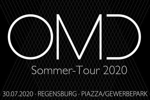 OMD Sommer Tour 2020 Plakat