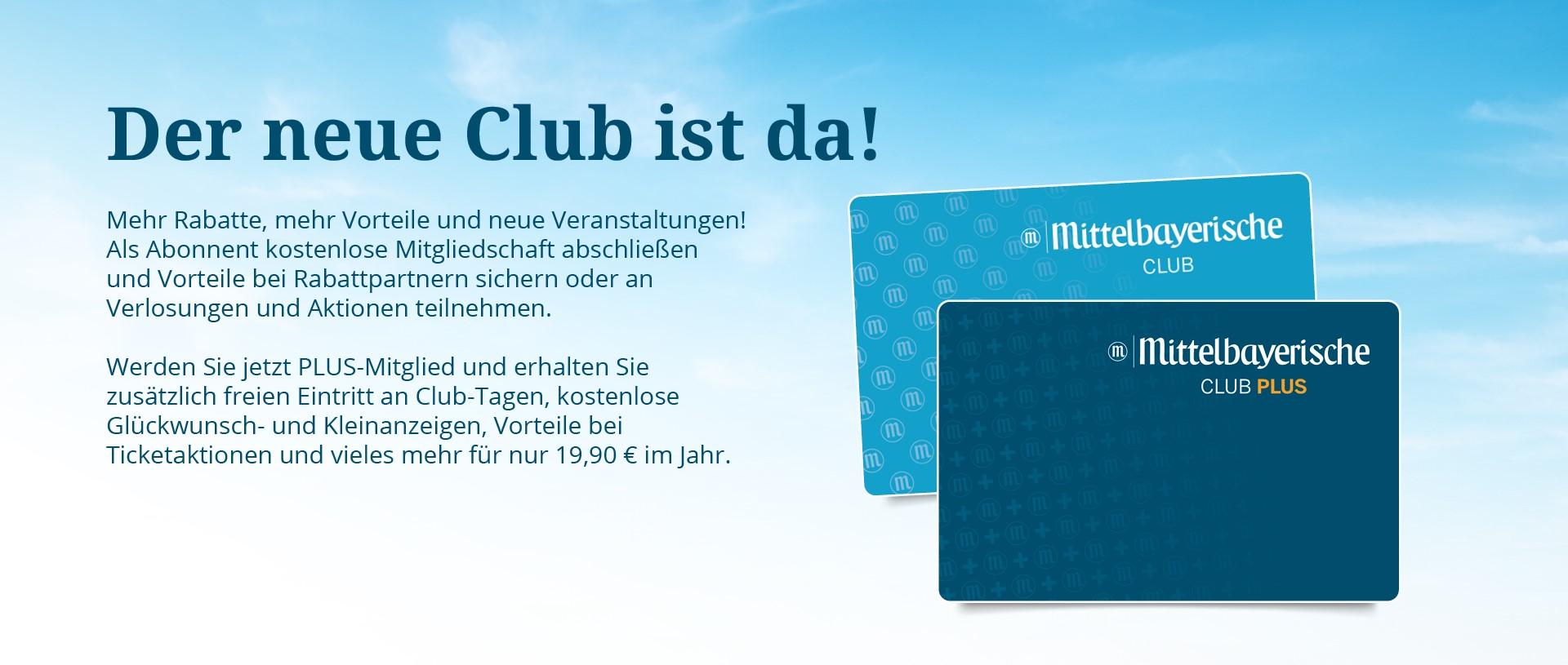 Clubkarten Banner